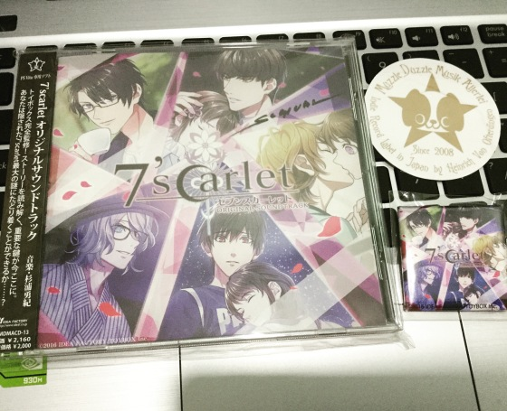 7scarlet original soundtrack and bonus badge
